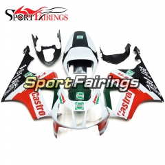 Fairing Kit Fit For Honda VTR1000 RC51 SP1 SP2 2000 - 2006 - Castrol White Red