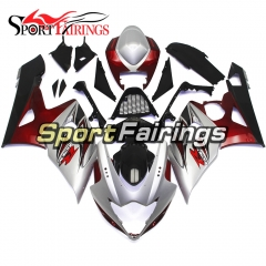 Fairing Kit Fit For Suzuki GSXR1000 K5 2005 - 2006 - Grey Red