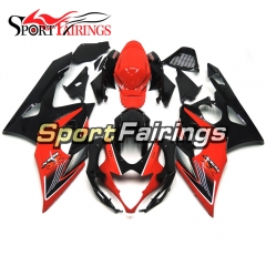 Fairing Kit Fit For Suzuki GSXR1000 K5 2005 - 2006 - Red Black