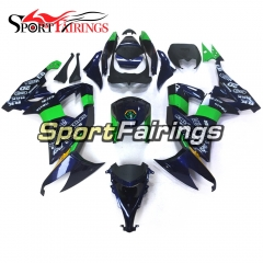 Fairing Kit Fit For Kawasaki ZX10R 2008 - 2010 -POWER1 Blue Green