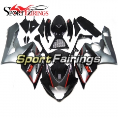Fairing Kit Fit For Suzuki GSXR1000 K5 2005 - 2006 - Black Grey