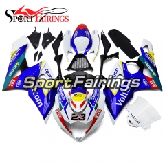 Fairing Kit Fit For Suzuki GSXR1000 K5 2005 - 2006 - Blue Black White