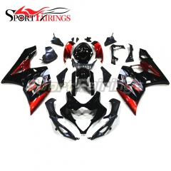 Fairing Kit Fit For Suzuki GSXR1000 K5 2005 - 2006 - Black Red