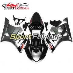 Fairing Kit Fit For Suzuki GSXR1000 K3 2003 - 2004 - Black Grey