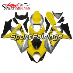 Fairing Kit Fit For Suzuki GSXR1000 K7 2007 - 2008 - Yellow Silver
