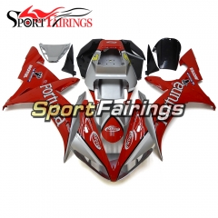 Fairing Kit Fit For Yamaha YZF R1 2002 2003 - Silver Red