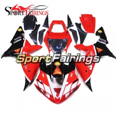 Fairing Kit Fit For Yamaha YZF R1 2002 2003 - Red Black