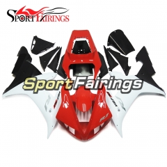 Fairing Kit Fit For Yamaha YZF R1 2002 2003 - Red White
