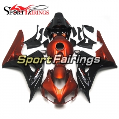 Fairing Kit Fit For Honda CBR1000RR 2006 - 2007 -  Orange Gloss Black