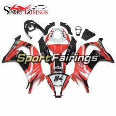 Fairing Kit Fit For Kawasaki ZX10R 2011 - 2015 -Pedercini Team 85 Red Black