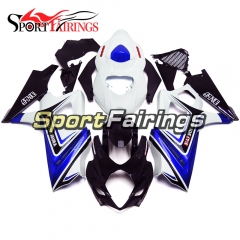 Fairing Kit Fit For Suzuki GSXR1000 K7 2007 - 2008 - White Blue