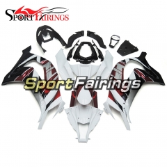 Fairing Kit Fit For Kawasaki ZX10R 2011 - 2015 -White Red Black