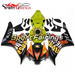 Fairing Kit Fit For Honda CBR1000RR 2006 - 2007 -  Rossi 46 Black Yellow