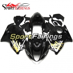 Fairing Kit Fit For Suzuki GSXR1300 Hayabusa 1997 - 2007 - Black Gold