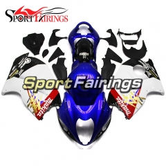 Fairing Kit Fit For Suzuki GSXR1300 Hayabusa 1997 - 2007 - Blue White