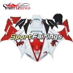 Fairing Kit Fit For Yamaha YZF R1 2002 2003 - White Red