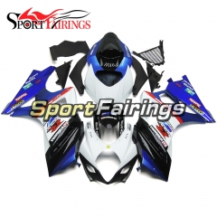 Fairing Kit Fit For Suzuki GSXR1000 K7 2007 - 2008 - Black White
