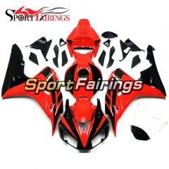 Fairing Kit Fit For Honda CBR1000RR 2006 - 2007 -  Red Black