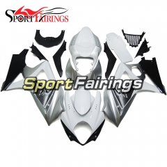 Fairing Kit Fit For Suzuki GSXR1000 K7 2007 - 2008 - Silver White