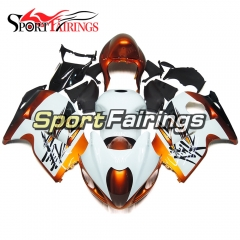 Fairing Kit Fit For Suzuki GSXR1300 Hayabusa 1997 - 2007 - White Gold