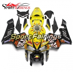 Fairing Kit Fit For Honda CBR600RR F5 2005 - 2006 - Yellow Black