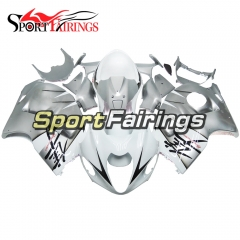 Fairing Kit Fit For Suzuki GSXR1300 Hayabusa 1997 - 2007 - White Silver