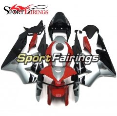Fairing Kit Fit For Honda CBR600RR F5 2005 - 2006 - Red Silver Black