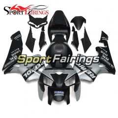 Fairing Kit Fit For Honda CBR600RR F5 2005 - 2006 - Black Silver