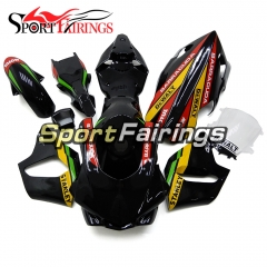 Fiberglass Racing Fairing Kit Fit For Yamaha YZF R1 2015 2016 - Black