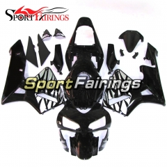 Fairing Kit Fit For Honda CBR600RR F5 2003 - 2004 - Black Grey Flame