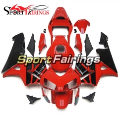 Fairing Kit Fit For Honda CBR600RR F5 2003 - 2004 - Red Black