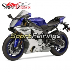 Fairing Kit Fit For Yamaha YZF R1 2015 2016 - Blue Silver