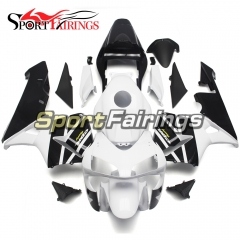 Fairing Kit Fit For Honda CBR600RR F5 2003 - 2004 - White Black