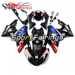 Fairing Kit Fit For BMW S1000RR 2011 - 2014 - Blue Black