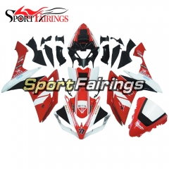 Fairing Kit Fit For Yamaha YZF R1 2007 2008 - Red White