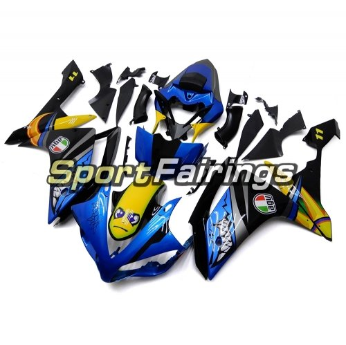 Fairing Kit Fit For Yamaha YZF R1 2007 2008 - Shark Blue