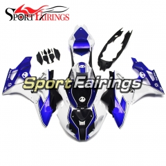 Fairing Kit Fit For BMW S1000RR 2011 - 2014 - HP4 WHITE BLUE Alien