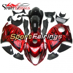 Fairing Kit Fit For Suzuki GSXR1300 Hayabusa 2008 - 2016 - Red Black