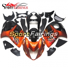 Fairing Kit Fit For Suzuki GSXR1300 Hayabusa 2008 - 2016 - Orange Black