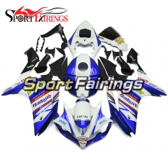 Fairing Kit Fit For Yamaha YZF R1 2007 2008 - Blue White