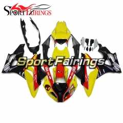 Fairing Kit Fit For BMW S1000RR 2011 - 2014 - Yellow Black
