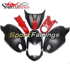 Fairing Kit Fit For Ducati  696/796/795/M1000/M1100 2009 - 2011 - Matte Black Red