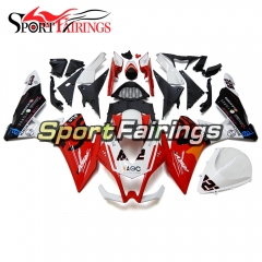 Fairing Kit Fit For Aprilia RSV4 1000 2010 - 2015 - White Red