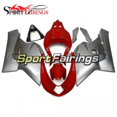 Fairing Kit Fit For MV Agusta F4 750 1000 2000 - 2009 - Silver Red