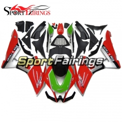 Fairing Kit Fit For Aprilia RSV4 1000 2010 - 2015 - Green Red Silver