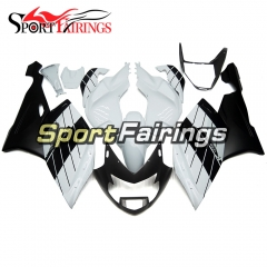 Fairing Kit Fit For BMW K1200S 2005 - 2008 - Matt Black White