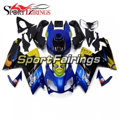 Fairing Kit Fit For Aprilia RS125 RS4 125 2006 - 2011 - Shark pattern Blue