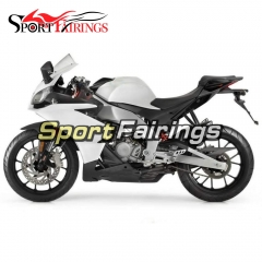 Fairing Kit Fit For Aprilia RS125 RS4 125 2012 - 2014 - White Pearl Black