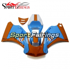 Fairing Kit Fit For Ducati 996/748/916/998 Monoposto 1996 - 2002 - Gloss Blue Orange