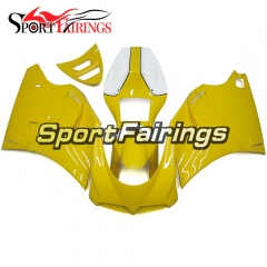 Fairing Kit Fit For Ducati 996/748/916/998 Monoposto 1996 - 2002 - Gloss Yellow White
